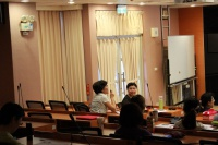 「Curriculum design in Nursing Education – process and challenges」專題演講