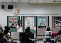 學生介紹自己作品之創作理念6